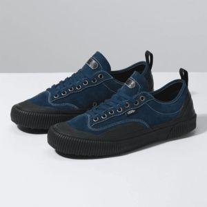 Vans Shoes - Vans Destruct SF Mens Blue & Black Low Top Shoes